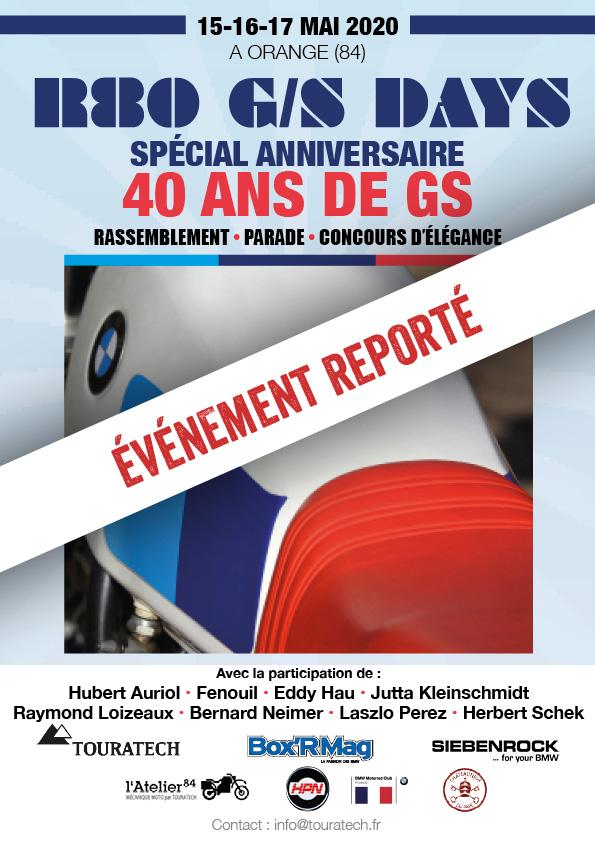 [REPORTÉ] Touratech France Fête Ses 20 Ans / La GS Fête Ses 40 Ans !