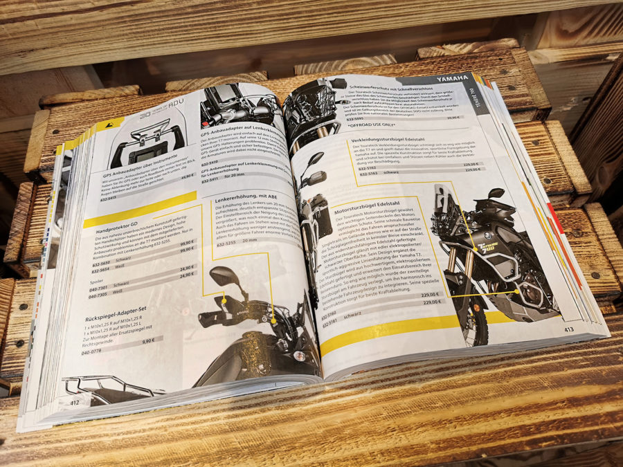 Catalogue Touratech 2020 - Détail