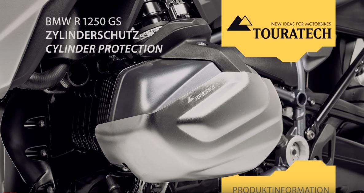 Vidéo Nouveau Produit : Protection Du Cylindre Pour BMW R1250GS