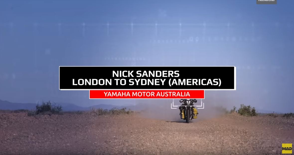 Touratech Nick Sanders de Londres à Sydney