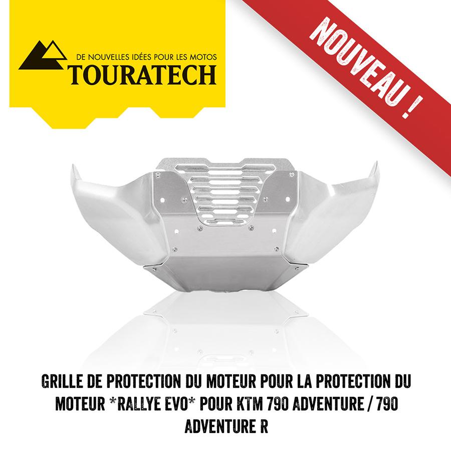 Grille De Protection Du Moteur Pour La Protection Du Moteur *RALLYE Evo* Pour KTM 790 Adventure / 790 Adventure R