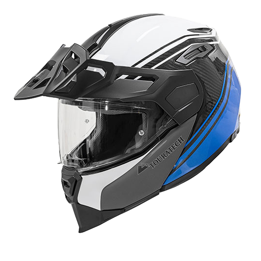 Touratech Casque Aventuro Traveller Carbon Pacific