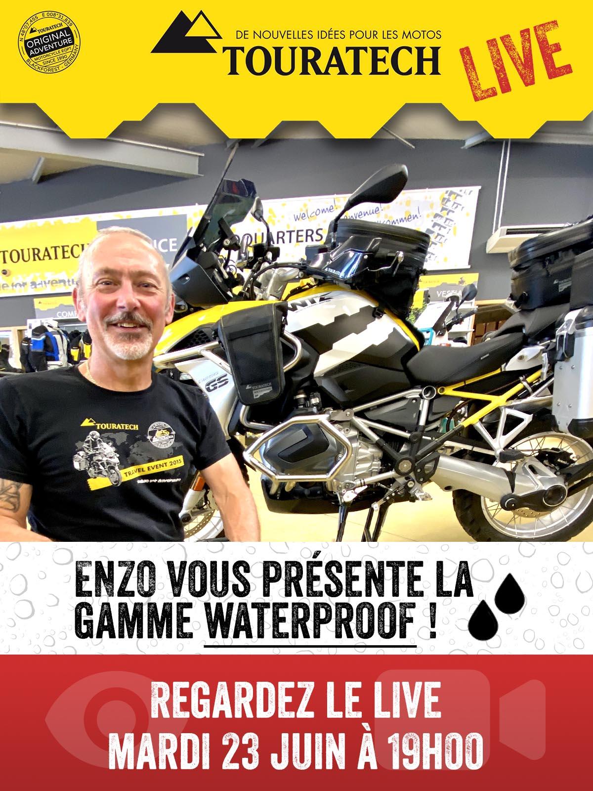LIVE Sur Facebook Le 23 Juin à 19h : Découvrez Notre Nouvelle Gamme De Produits Waterproof