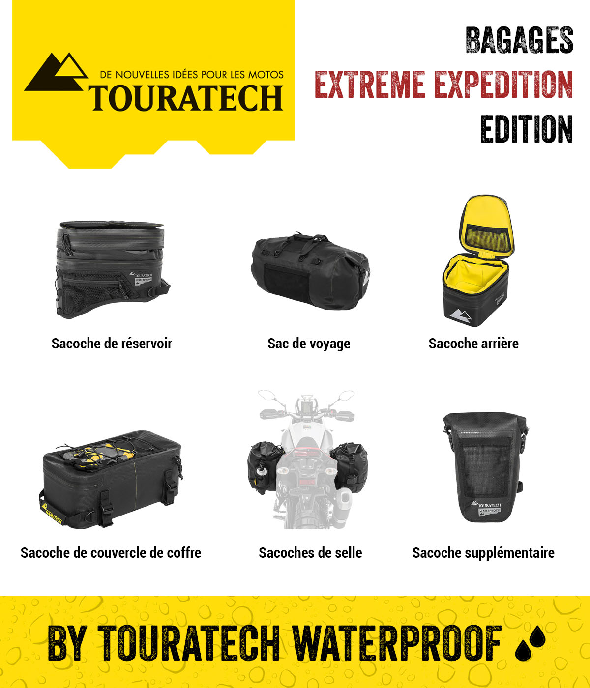 "Bagages ""EXTREME EXPEDITION"" Edition by Touratech Waterproof"
