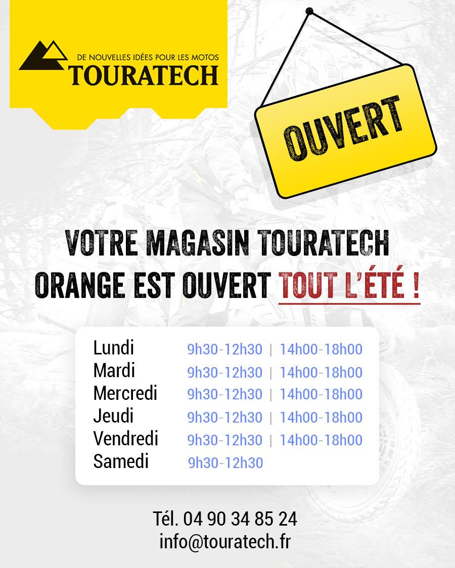 Notre Magasin Touratech à ORANGE Est Ouvert Tout L'été !