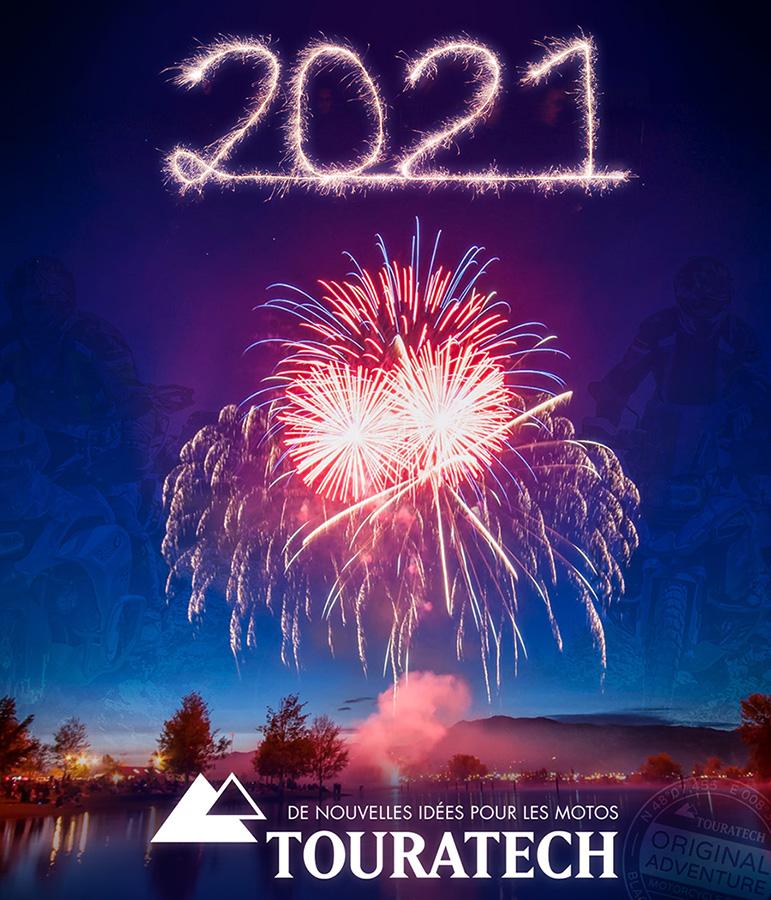 Touratech Orange Vous Souhaite Une Excellente Année 2021 !