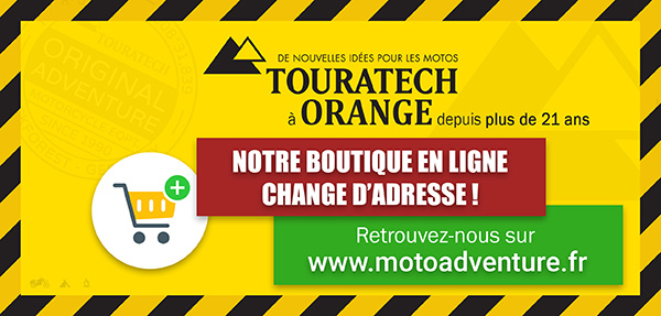 La Boutique En Ligne Touratech Orange Change D'adresse